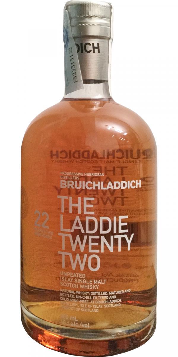 Bruichladdich 22-year-old