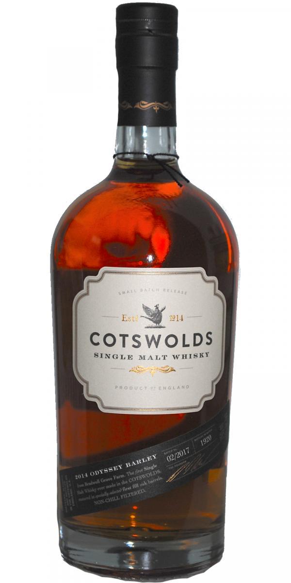 Cotswolds Distillery 2014