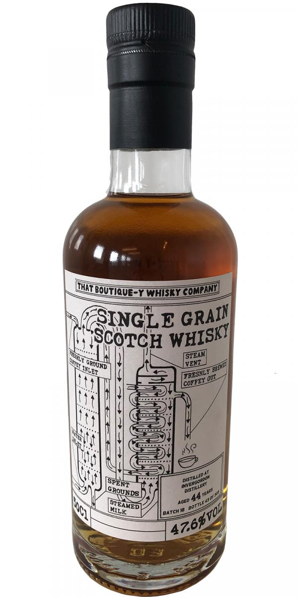Invergordon Batch 18 TBWC