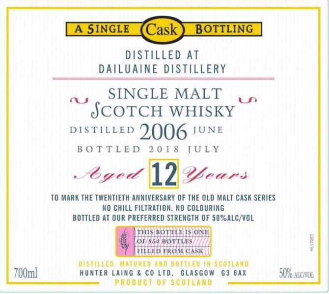 Dailuaine 2006 HL