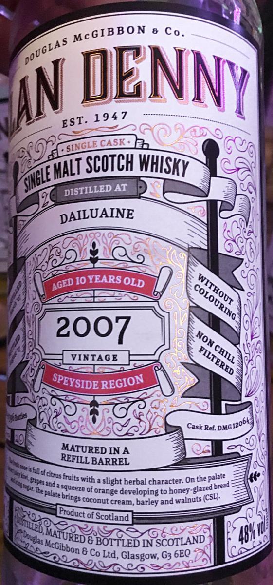 Dailuaine 2007 McG