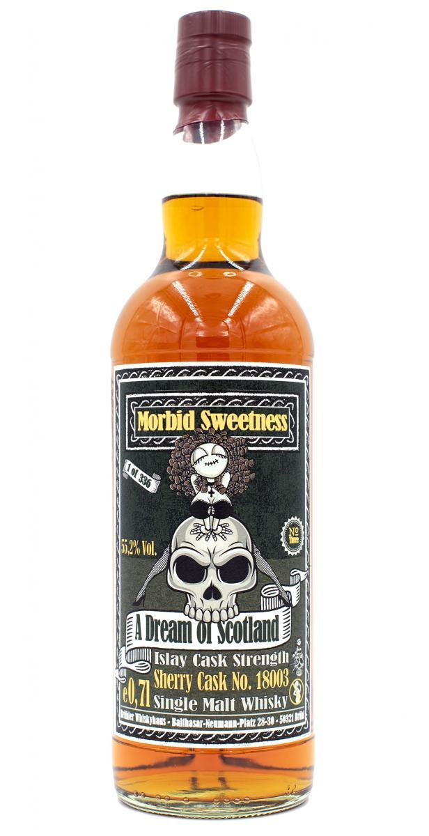 A Dream of Scotland Morbid Sweetness No. Three BW
