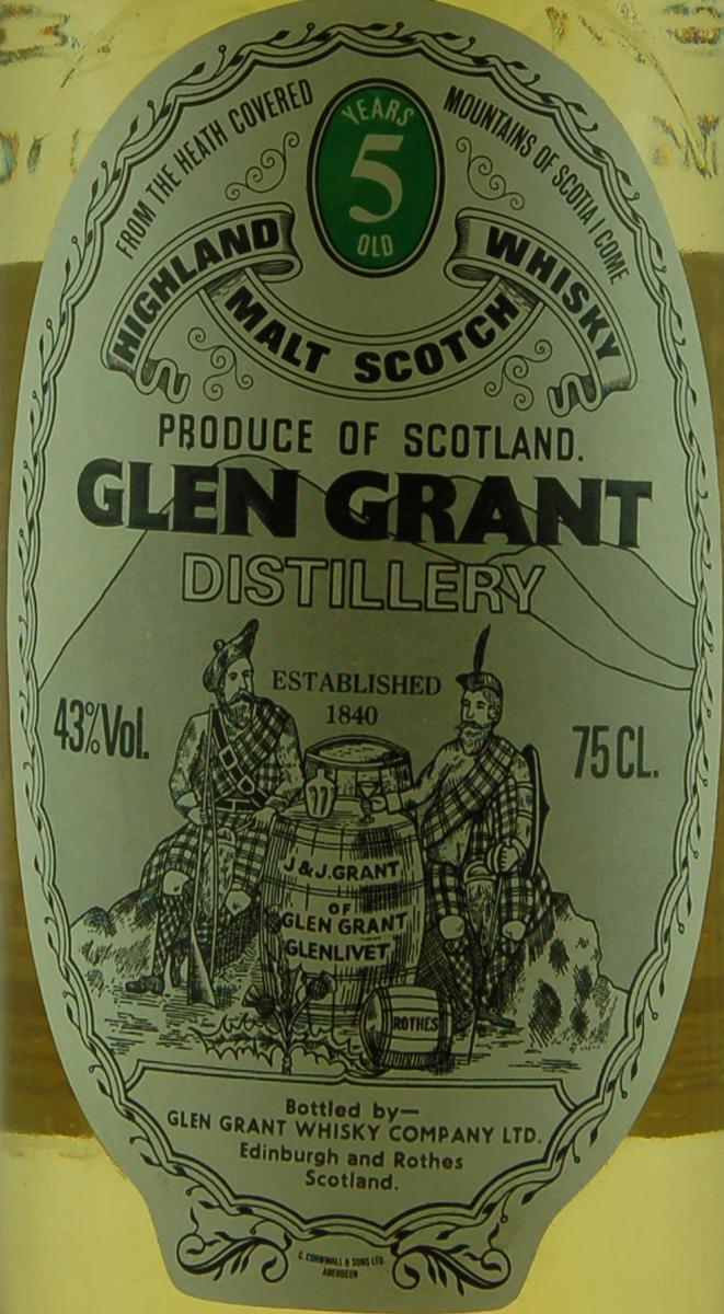 Glen Grant 1971