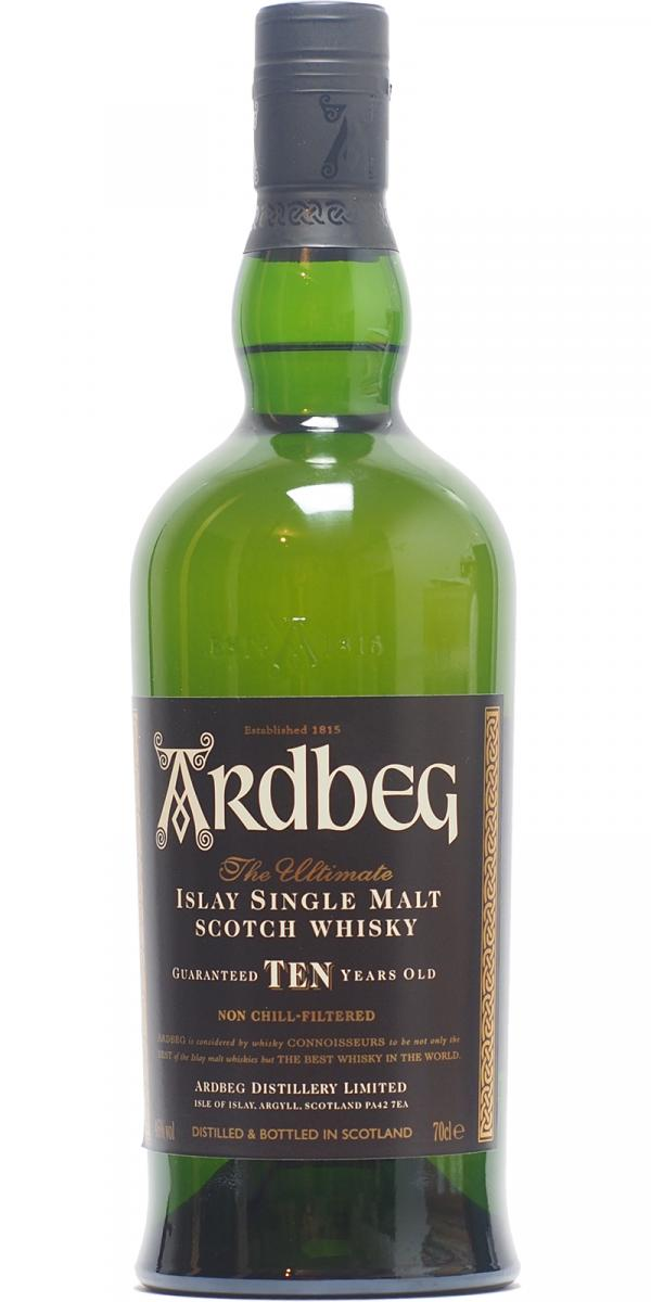 Ardbeg Ten - Gift Pack with Tumbler 2013