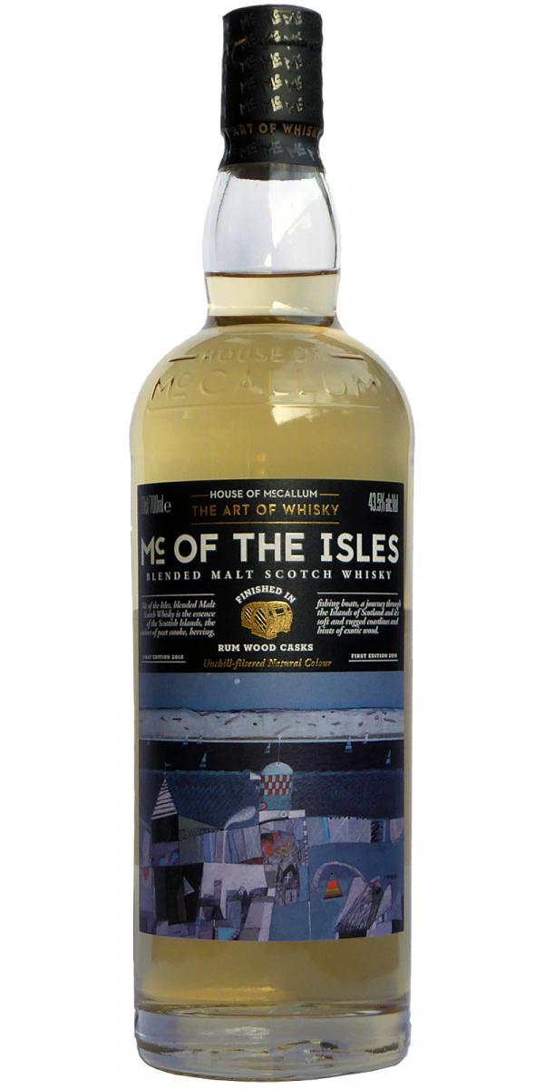 Mc of the Isles Blended Malt Scotch Whisky HoMc