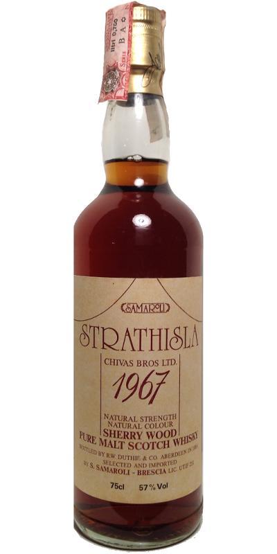 Strathisla 1967 RWD