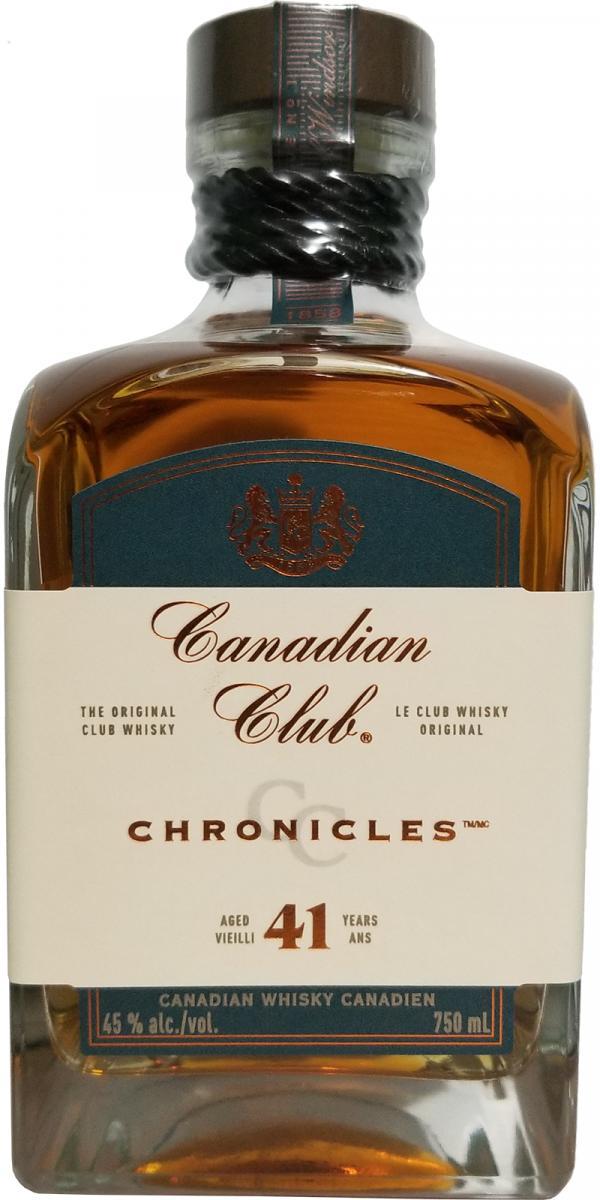 Canadian Club Chronicles 41