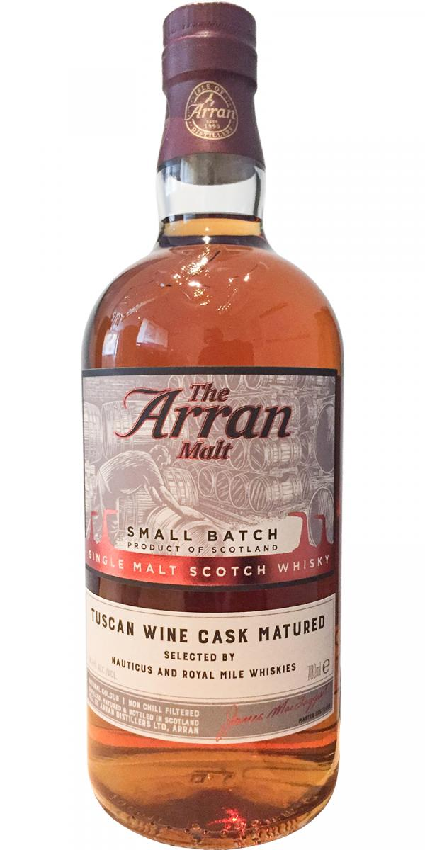 Arran Tuscan Wine Cask Matured