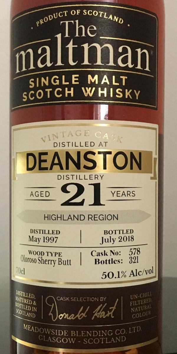 Deanston 1997 MBl