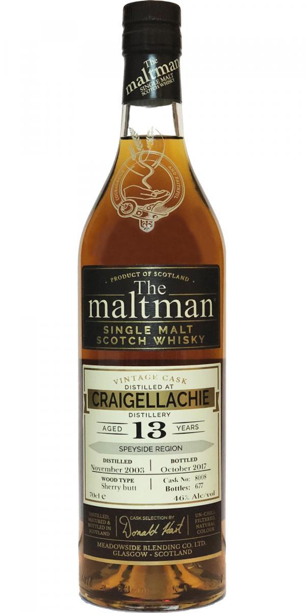 Craigellachie 2003 MBl