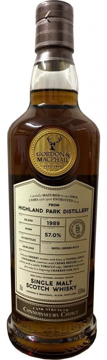 Highland Park 1989 GM