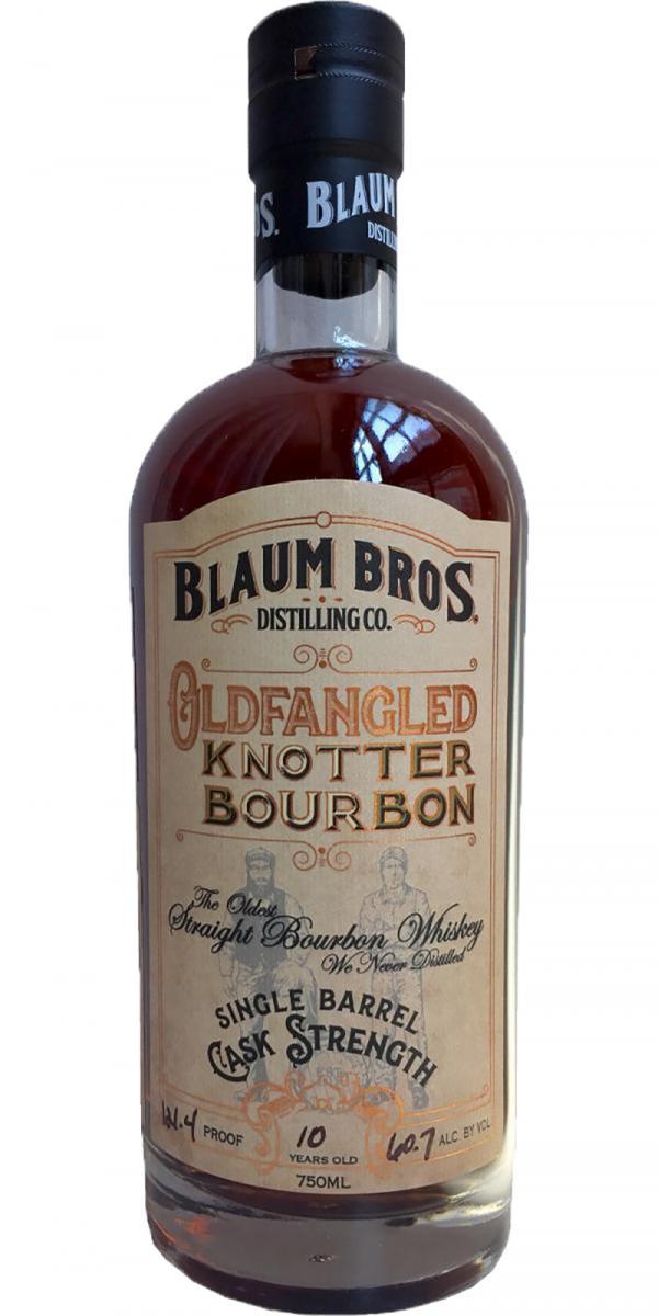 Blaum Bros. Distilling Co. 10-year-old - Oldfangled Knotter Bourbon