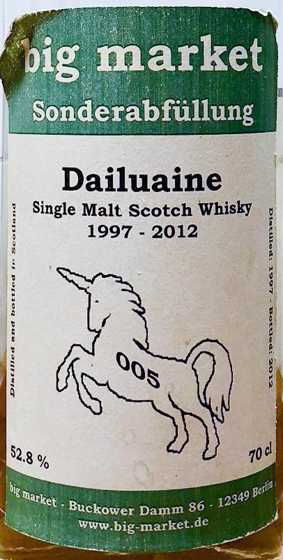 Dailuaine 1997 BM