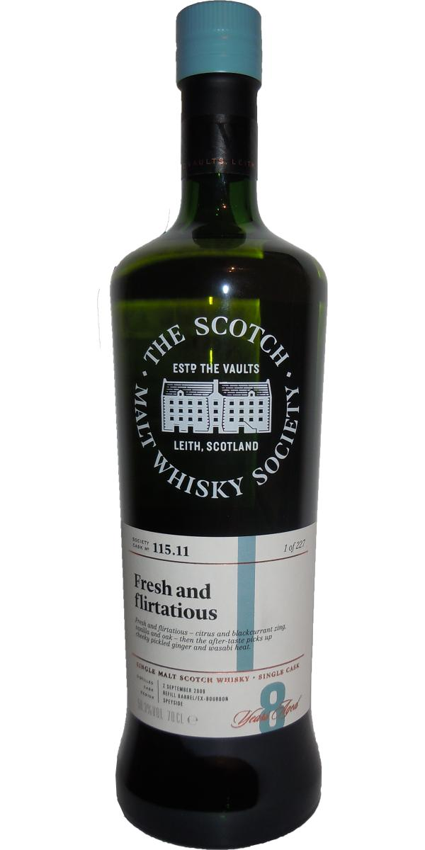 An Cnoc 2009 SMWS 115.11
