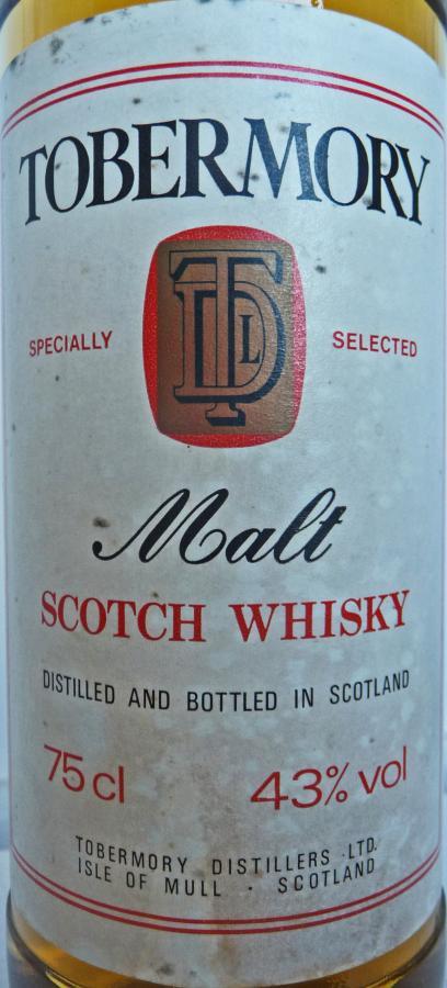 Tobermory Malt Scotch Whisky