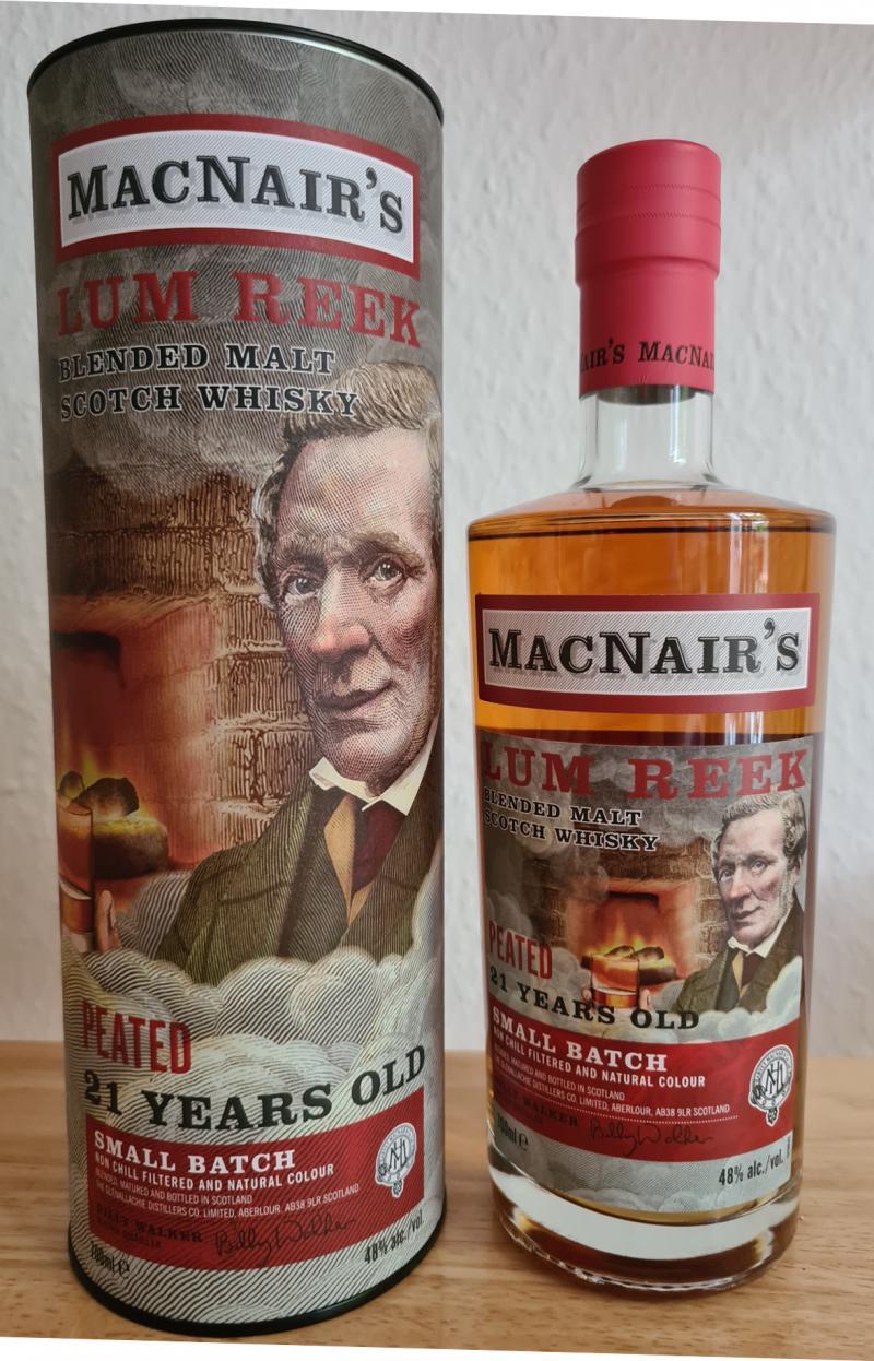 MacNair's 21-year-old - Lum Reek Peated
