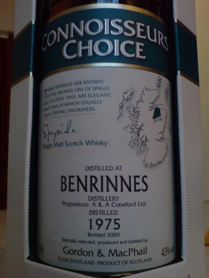 Benrinnes 1975 GM