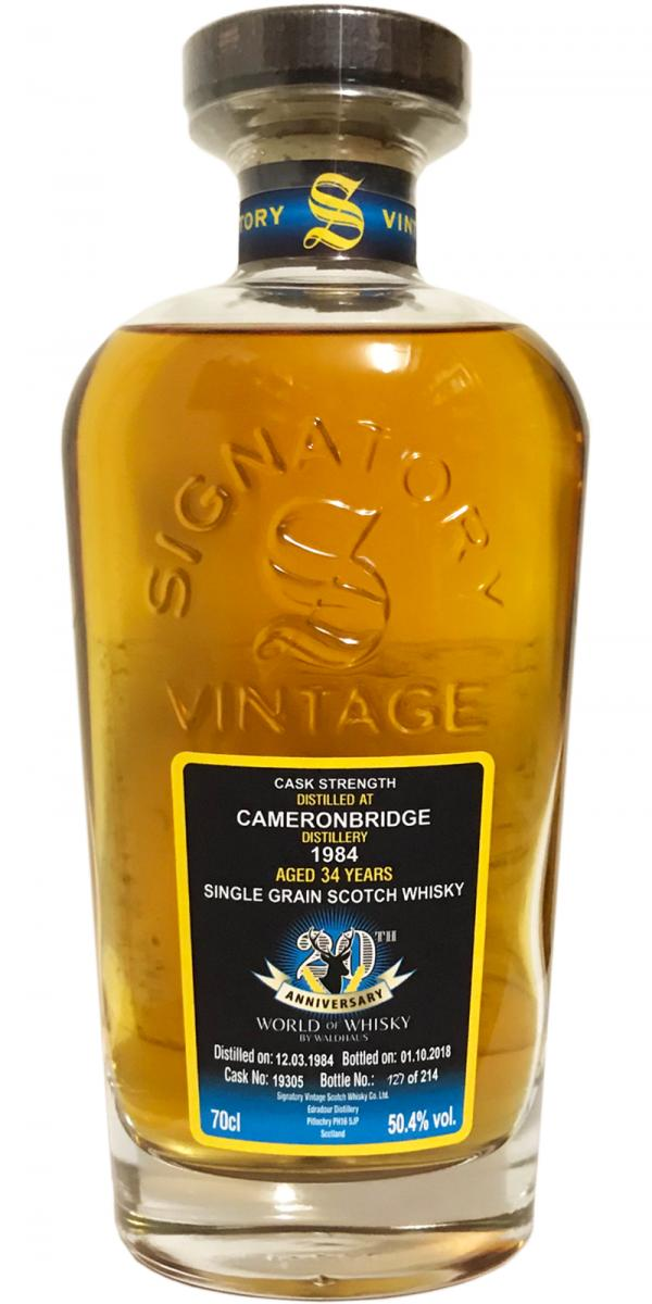 Cameronbridge 1984 SV