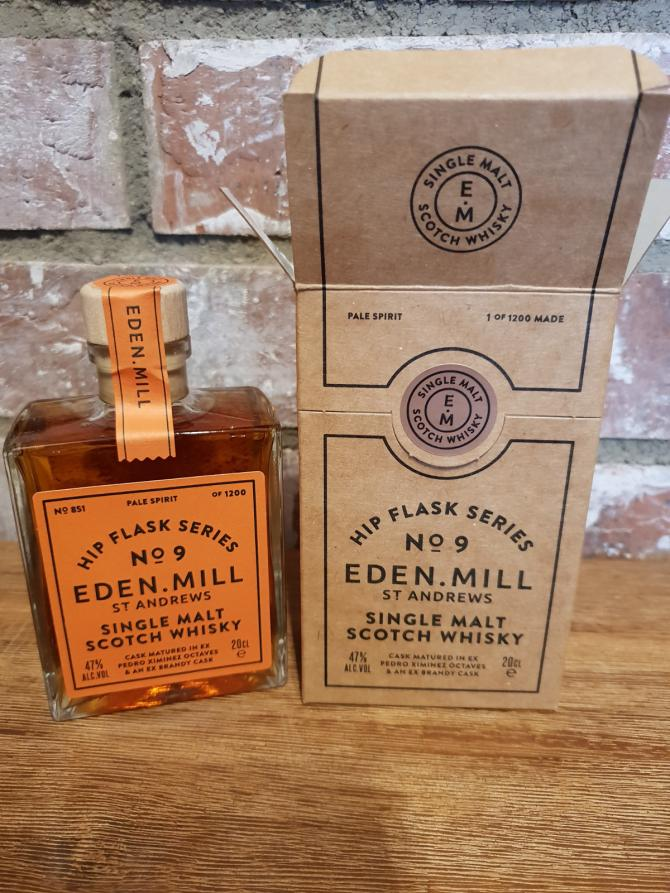 Eden Mill Hip Flask Series No. 9