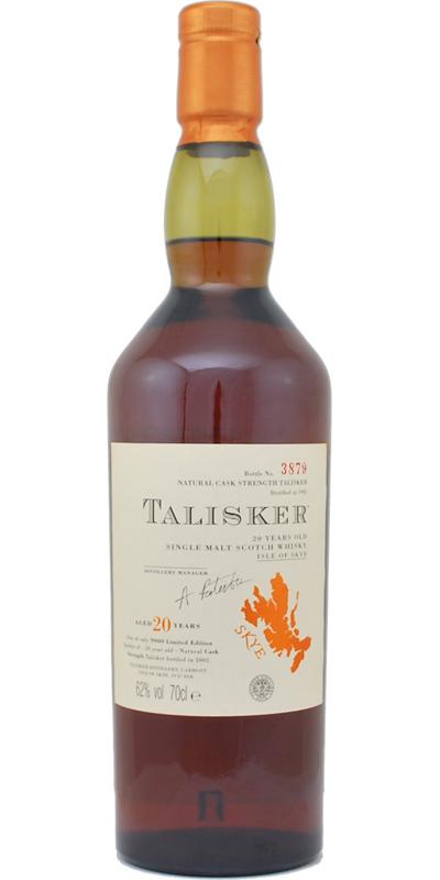 Talisker 20-year-old 1981