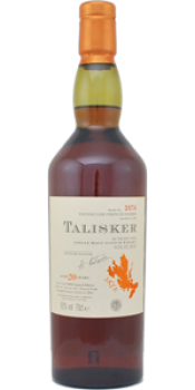 Talisker 20-year-old 1981