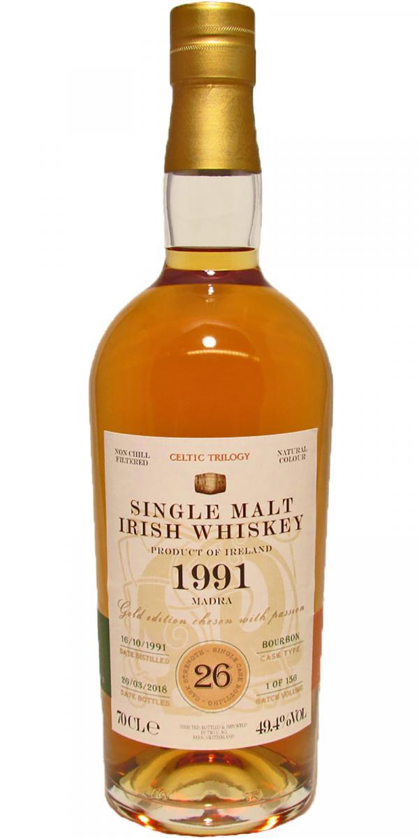 Single Malt Irish Whiskey 1991 - Madra TWCC