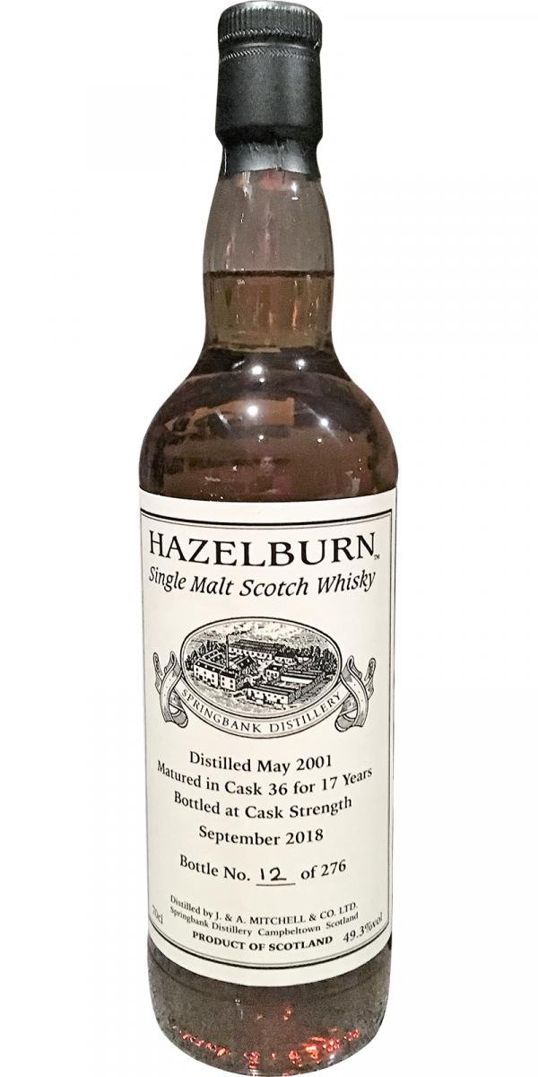 Hazelburn 2001