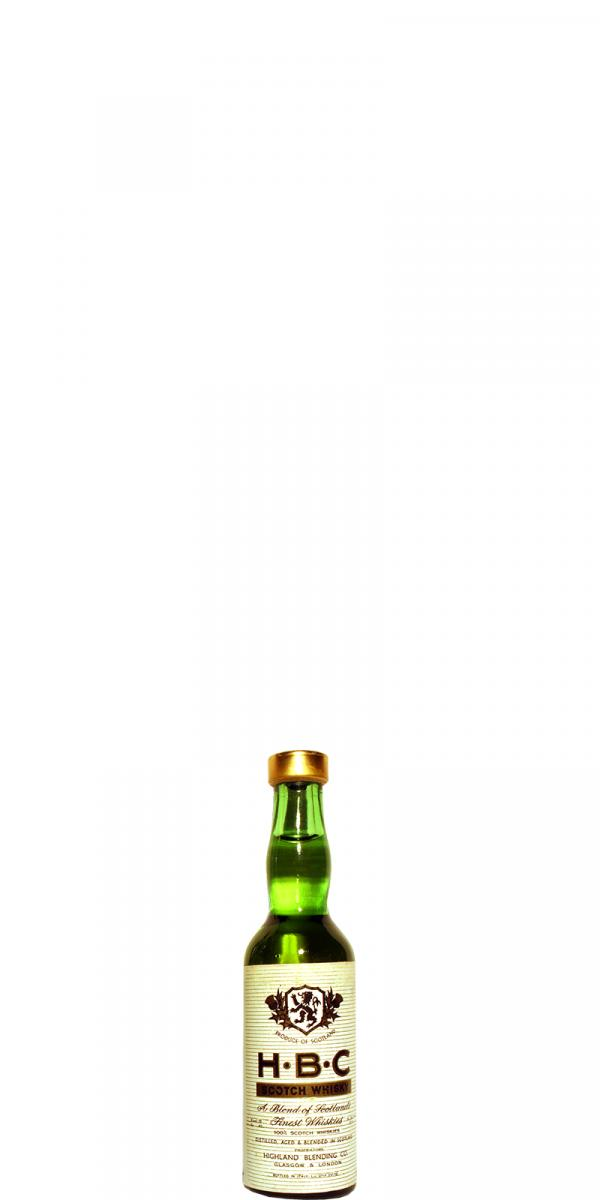 HBC Scotch Whisky