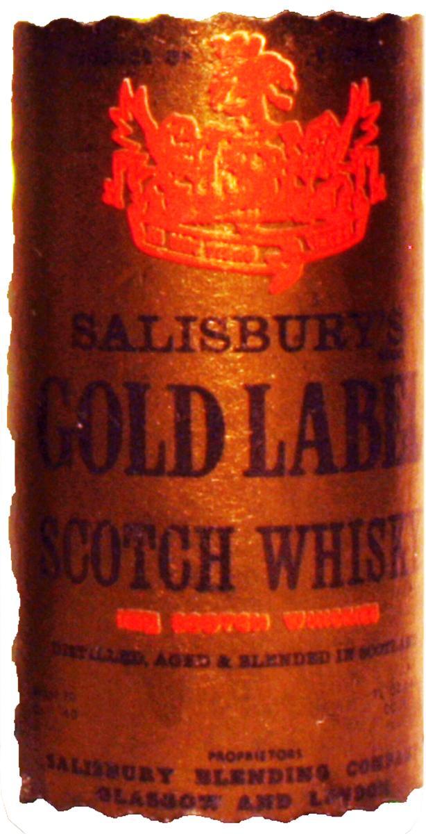Salisbury's Gold Label