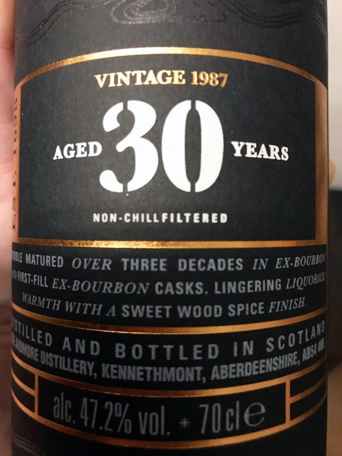 Ardmore 30-year-old