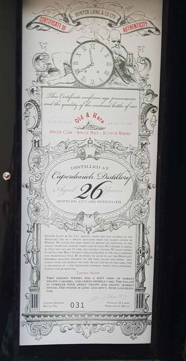 Caperdonich 1992 HL