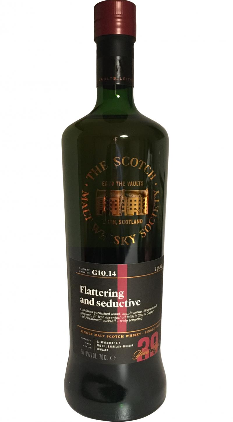 Strathclyde 1977 SMWS G10.14