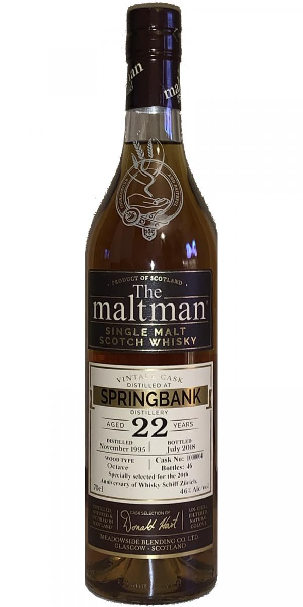 Springbank 1995 MBl