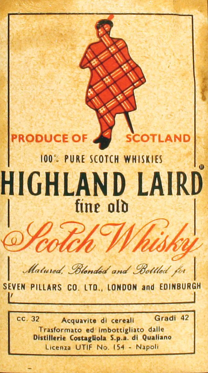 Highland Laird 100% Pure Scotch Whiskies