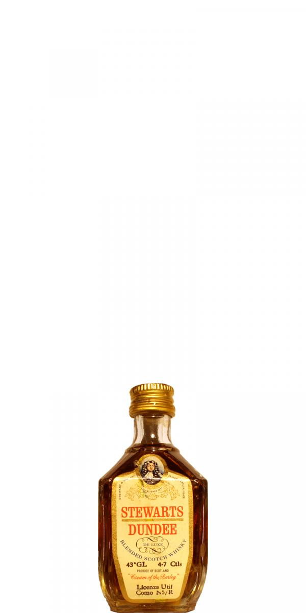 Stewarts Dundee De Luxe Blended Scotch Whisky