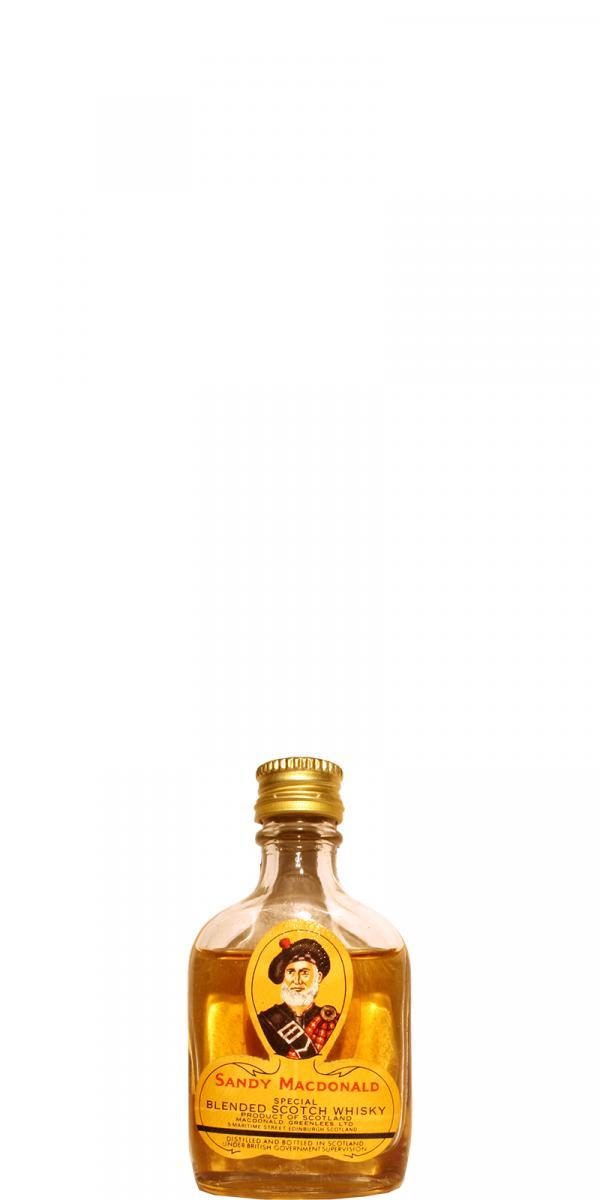 Sandy Macdonald Special - Blended Scotch Whisky
