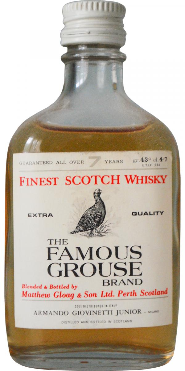 The Famous Grouse 07-year-old