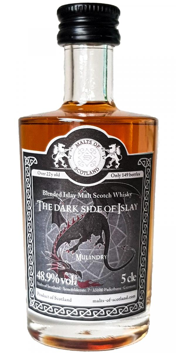 The Dark Side of Islay 22-year-old MoS
