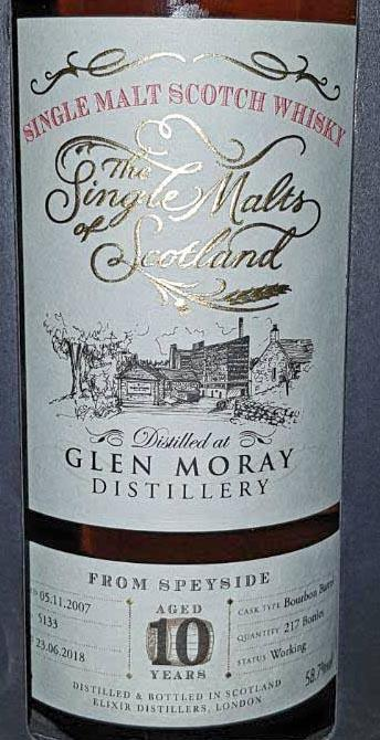 Glen Moray 2007 ElD