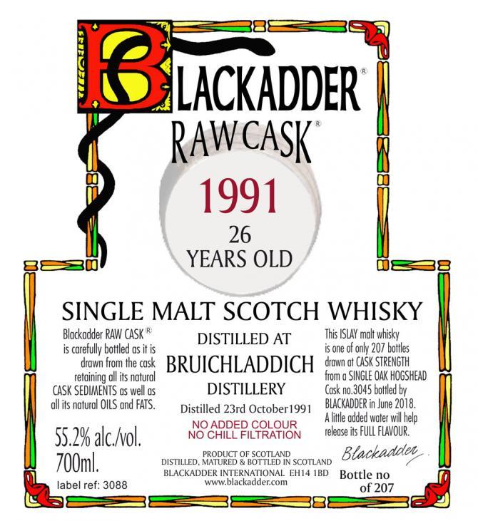 Bruichladdich 1991 BA