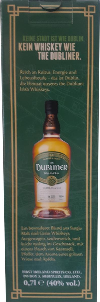 The Dubliner Irish Whiskey