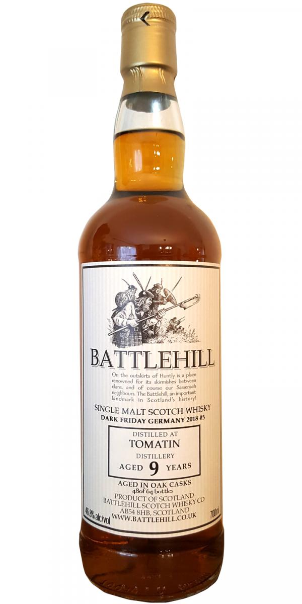 Tomatin 09-year-old BSW