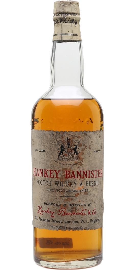 Hankey Bannister Scotch Whisky A Blend