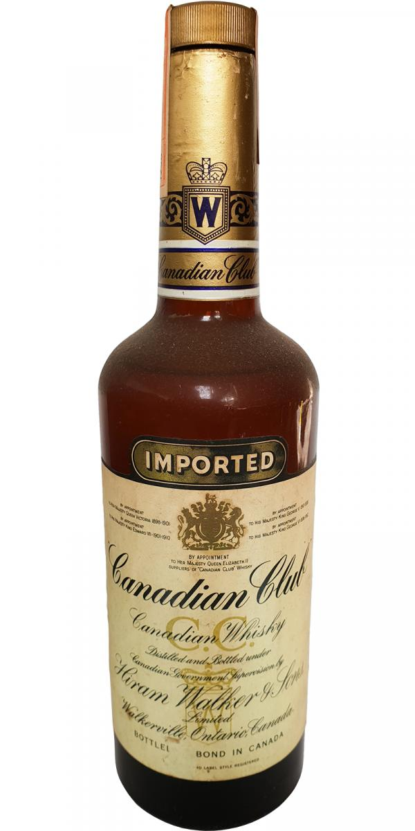 Canadian Club 1956 Imported