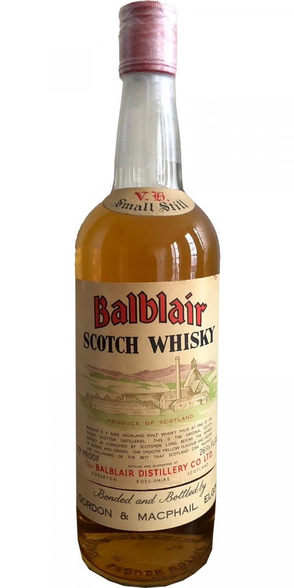 Balblair Scotch Whisky GM