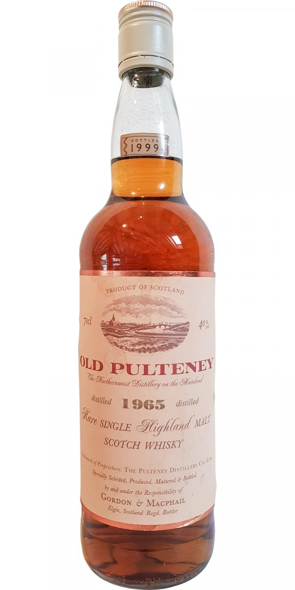 Old Pulteney 1965 GM
