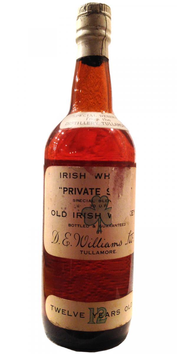 Tullamore Dew 12-year-old D.E. Williams Tullamore
