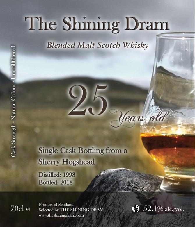 Blended Malt Scotch Whisky 1993 TSD