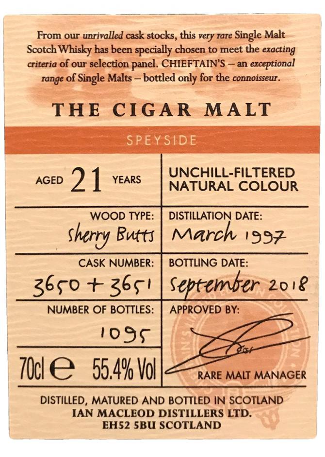The Cigar Malt 1997 IM