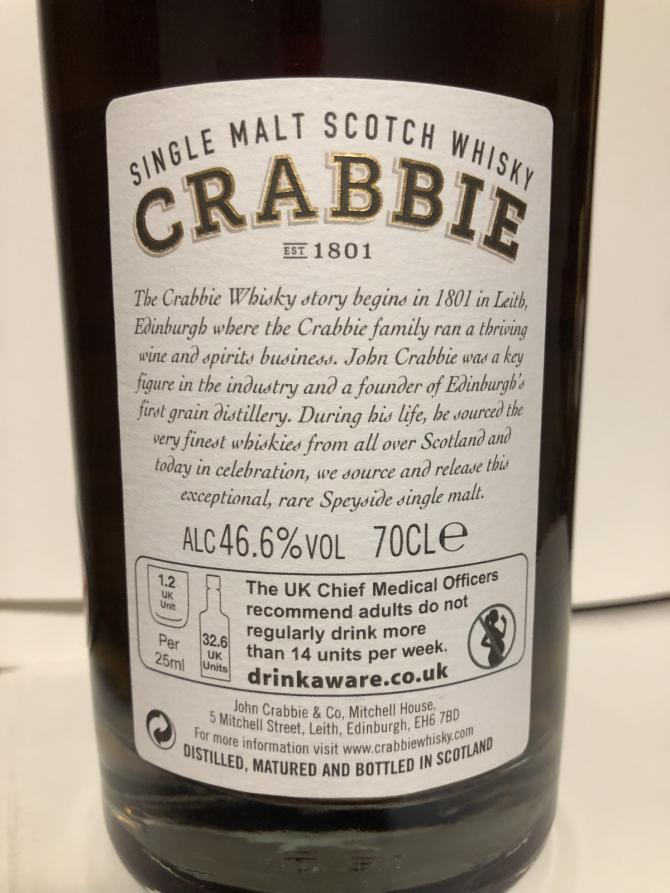Crabbie 25-year-old JCrC